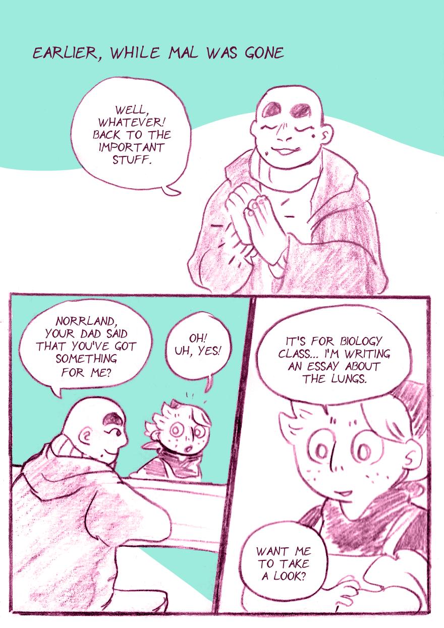 Summer Break Bonus, Page 1